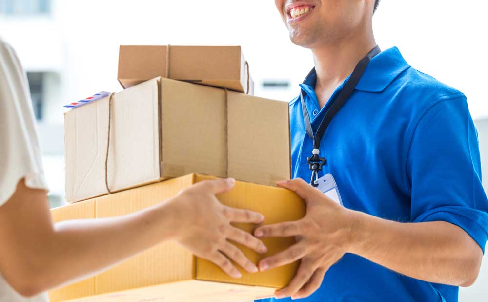 We offer door-to-door (DTD) courier delivery in the UK and across some 220 countries worldwide