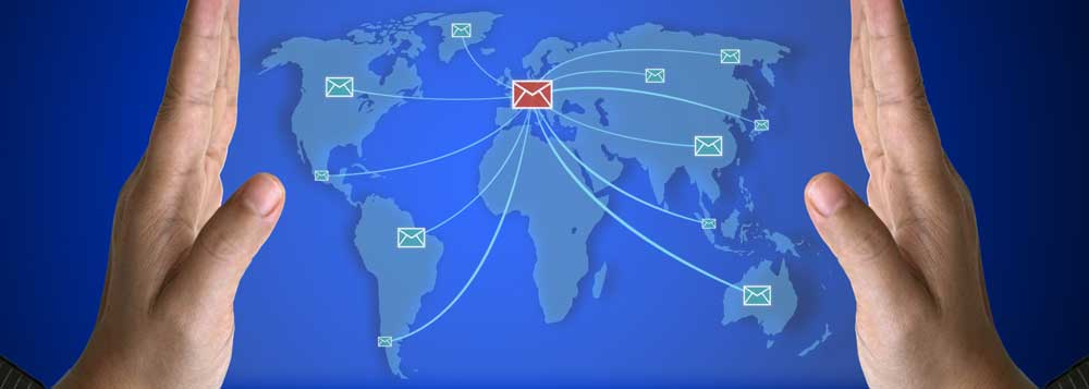 Spatial Global is well placed to manage your international business mail and fulfilment professionally and efficiently