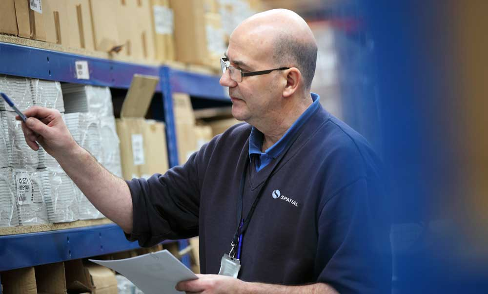 Inventory management is one of our many added-value shared-user warehousing services